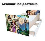 Детская кровать Волшебные бабочки, фото 5