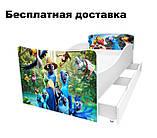 Детская кровать Волшебные бабочки, фото 6