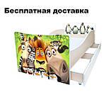 Детская кровать Волшебные бабочки, фото 7