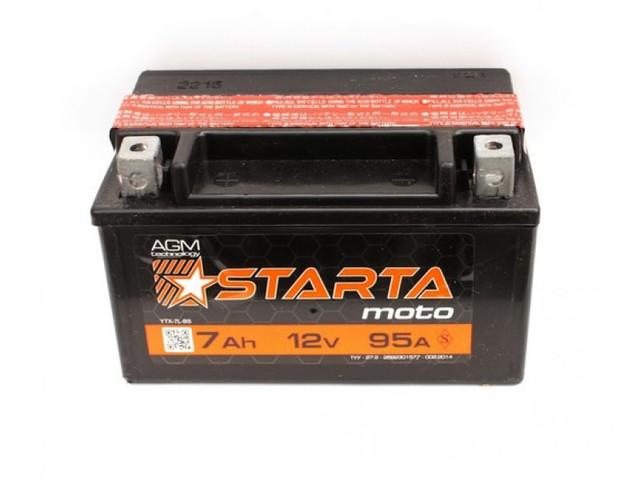 Мото аккумуляторы Starta AGM