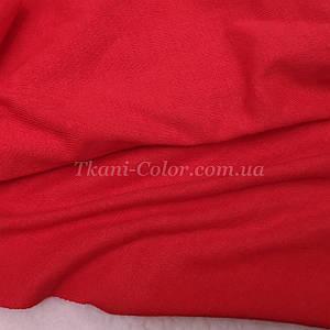 Ткань кулир стрейч красный