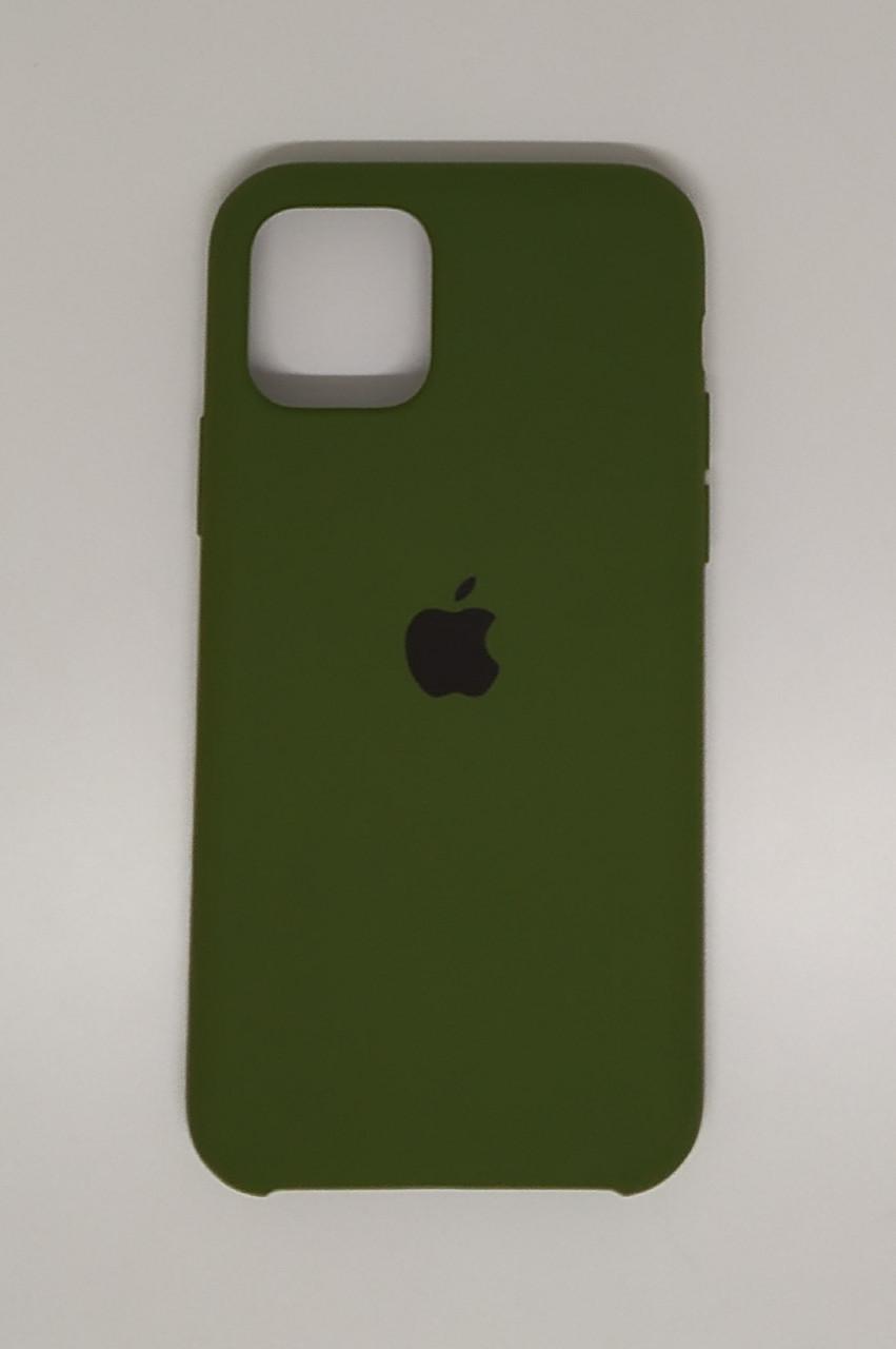"""Чехол Silicon iPhone 11 Pro Max - """"Хаки №48"""""""