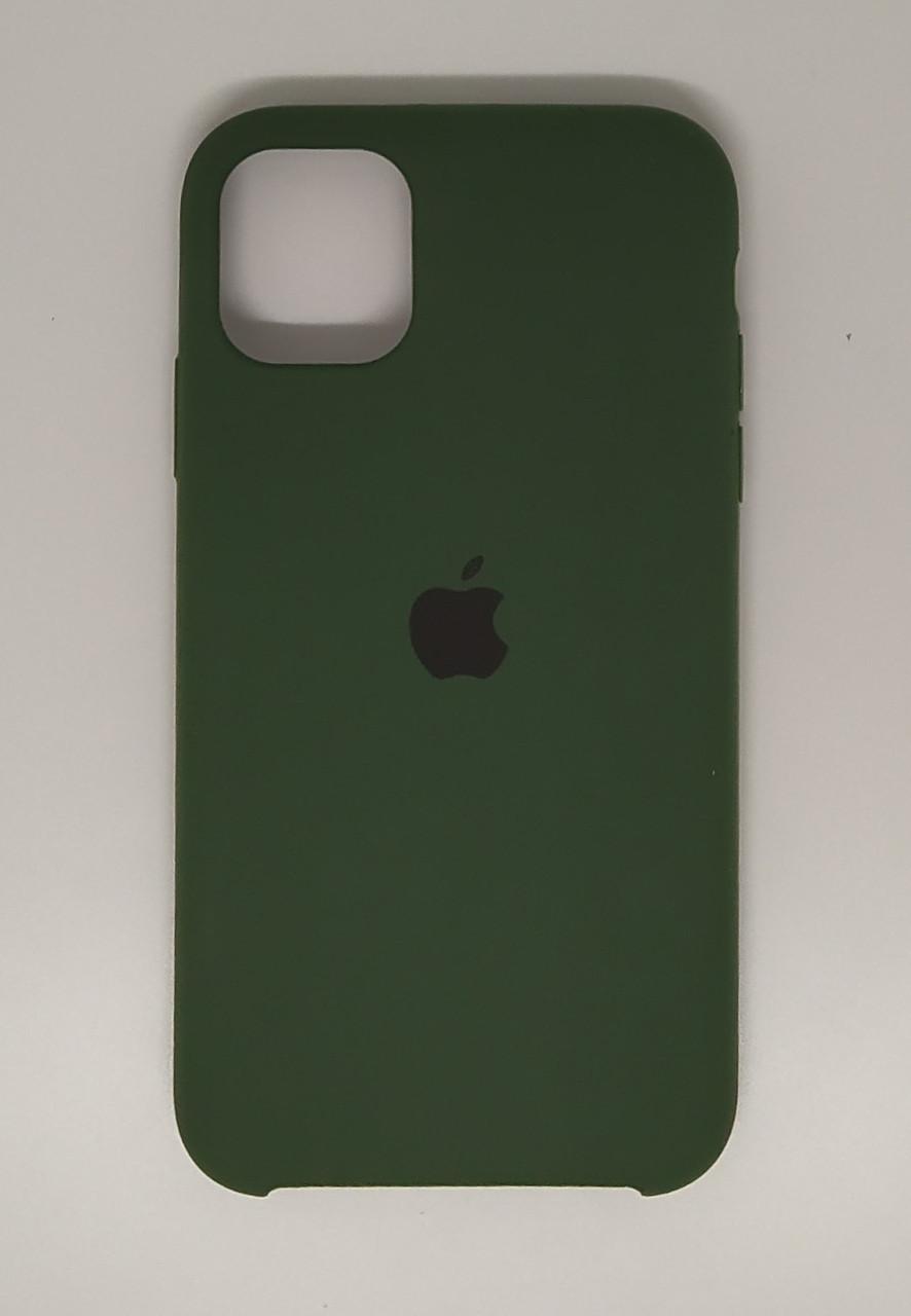 """Чехол Silicon iPhone 11 Pro Max - """"Елка №49"""""""