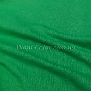 Ткань кулир стрейч зеленый