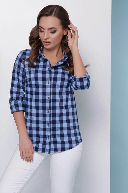 Рубашка 1807 джинс