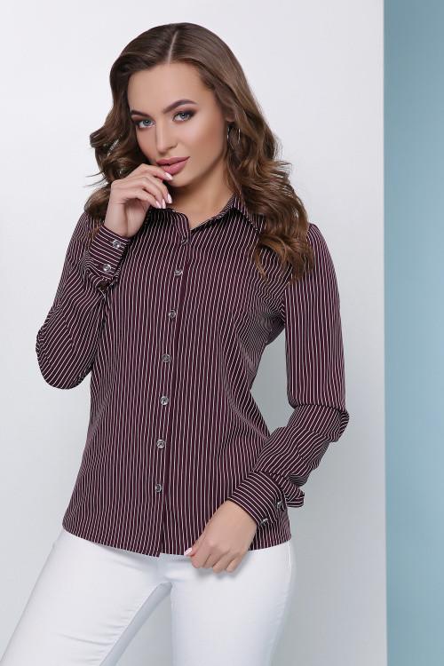 Блуза 1811 баклажановый