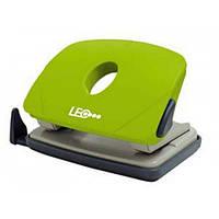 Дырокол 16л пласт. L1423-08 зеленый LEO 240149