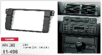 Рамка под магнитолу BMW 3 E46 (1998-2005 год) /для БМВ 3-й серии /переходная рамка/