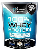 Протеин Progress Powerful 100% Whey protein 2 кг. Капучино