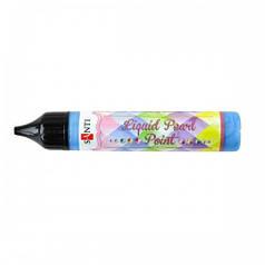 ЗD-гель Liquid pearl gel синий 741213