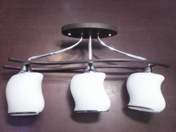 Люстра, 3 лампы