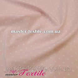 Супер софт горошек 3 мм (белый/розовый)