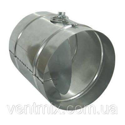 Дроссель-клапан из оцинкованной стали d 100 мм