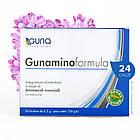 Gunaminoformula (GUNA, Италия). 8 незаменимых аминокислот. 24 саше, 156 г, фото 2