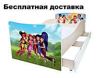 Детская кровать Волшебные Феи Динь-Динь Дисней Долина Фей, фото 1