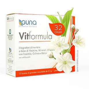 VITFormula (GUNA, Италия). Мультивитаминно-минеральный комплекс. 32 саше, 80 г
