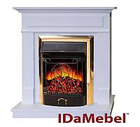 Каминокомплект IdaMebel Michelle Gold