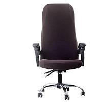 Чехол на офисное кресло тёмно-коричневый размер L Cheholkin
