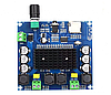 TDA7498 Bluetooth 5.0 модуль усилитель 2х100 Вт с кардридером, фото 3