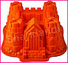 Термостойкая силиконовая кондитерская форма Замок для выпечки, фото 5
