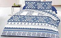 Постельный комплект Голубая вышиванка (бязь)