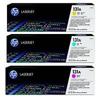 Заправка цветных картриджей HP