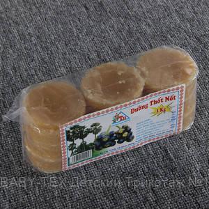 Пальмовый сахар Джагерри 100% натуральный TH Duong Thot Not 1кг (Вьетнам)