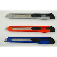 Нож канцелярский 9мм D1611 480038