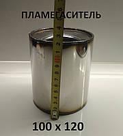Пламегаситель коллекторный DMG 100x120 . Вставка вместо катализатора . Нержавейка