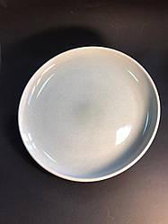Набор 6 обеденных керамических тарелок бежево-серый Мрамор 28.5 см арт. 7953-11