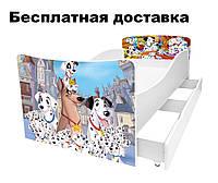 Детская кровать щенки далматинцы, фото 1