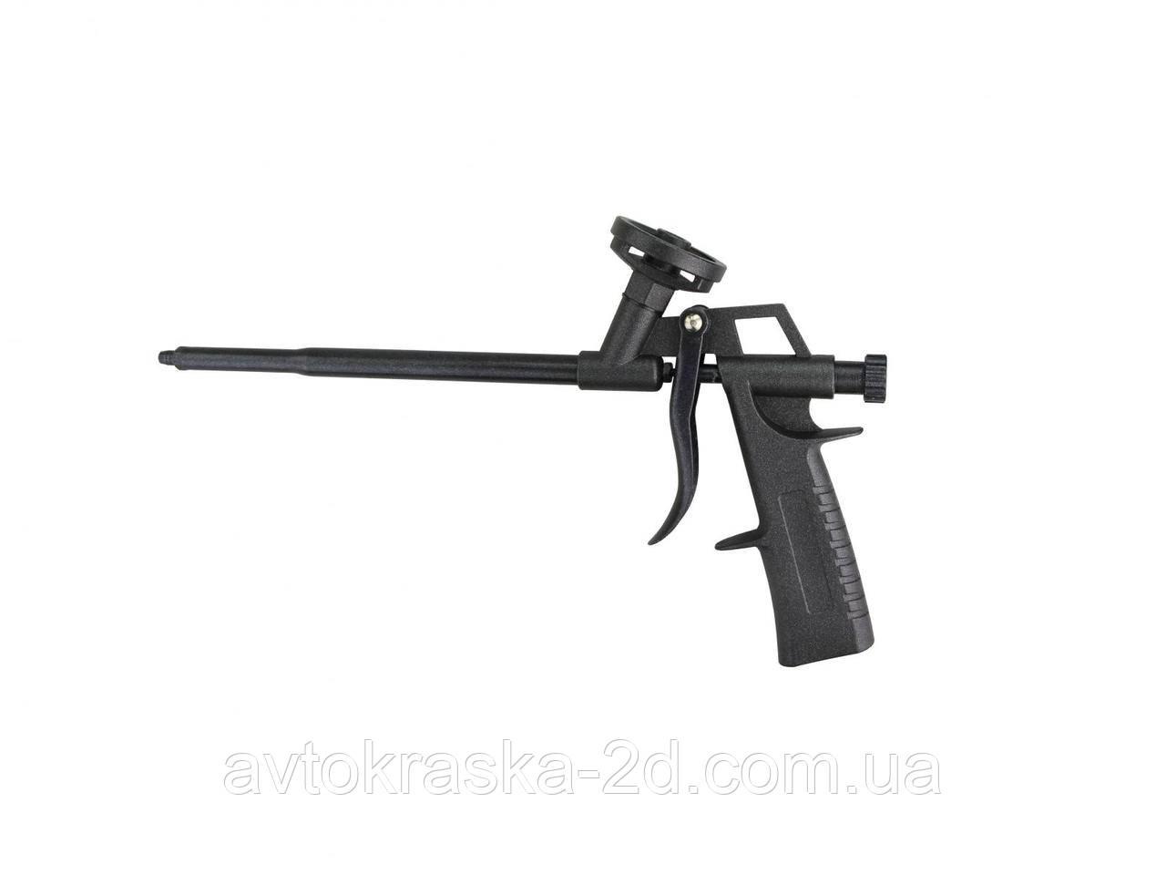 Пистолет для профессиональной монтажной пены G-27 полностью тефлоновый.