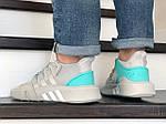 Мужские кроссовки Adidas Equipment adv 91-18 (светло-серые) 8881, фото 4
