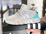 Мужские кроссовки Adidas Equipment adv 91-18 (светло-серые) 8881, фото 3