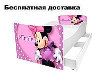 Детская кровать Минни маус Minnie, фото 1