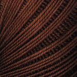 Пряжа YarnArt Lily 0005 коричневый (Ярнарт Лили) 100% мерсеризованный хлопок