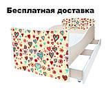 Детская кровать цветы сакура, фото 2