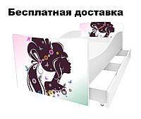 Детская кровать Дама с прической, фото 1