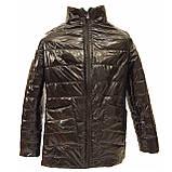 Жіноча демісезонна куртка з плащової тканини з накладною кишенею, батал, ОПТ, модель Юлія Лак, розміри 48 - 54, фото 9