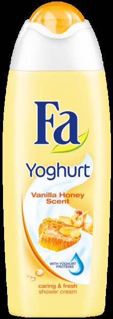 """Гель для душа Fa """"Yoghurt. Ванильный мед"""" (250мл.)"""
