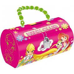 Копилка-сумочка металлическая Винкс. 703991