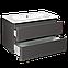 Комплект Devit Fly 0021120G Тумба с раковиной, серый цвет, фото 3