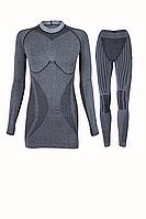 Комплект женского термобелья Haster Alpaca Wool S/M Черный