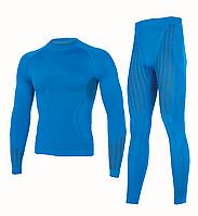 Комплект мужского термобелья Haster UltraClima L-XL Синий (h0187)