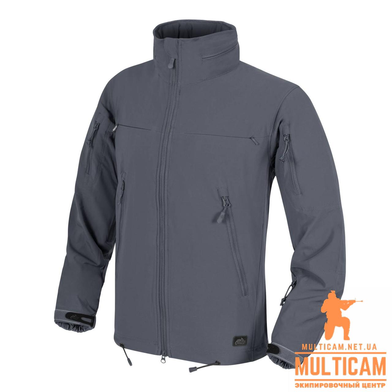 Куртка Windblockers Helikon-Tex® COUGAR QSA™ + HID™ Jacket® - Shadow Grey