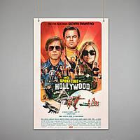 Постер: Однажды в Голливуде