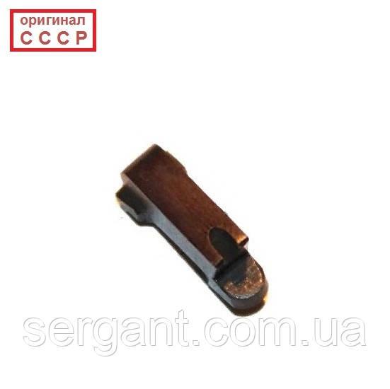 Выбрасыватель КРАСНЫЙ оригинальный новый (зацеп с пяточкой) для пистолета Макарова ПМ (оригинал СССР)