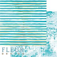 "Лист бумаги для скрапбукинга ""Жизнь в цветах"", коллекция ""Pretty tiffany"", 30,5х30,5 см, плотность 190 гр."