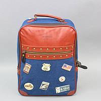 """Городской рюкзак для вещей """"Mi`kemage"""" RK296, 40*30*20 см, Рюкзаки из водонепроницаемой ткани, Рюкзаки унисекс, Рюкзак для школы"""