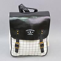 """Городской рюкзак для вещей """"Ceckerboard"""" RK312, 30*25*15 см, Рюкзак унисекс, Рюкзак для школы, Модный рюкзак, Рюкзак для института"""
